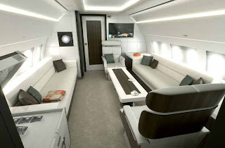 Bluejay cabin concept for the Airbus ACJ219