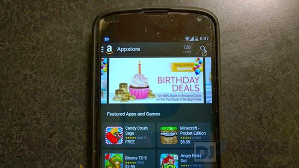 Amazon celebrates Appstore's 3rd birthday
