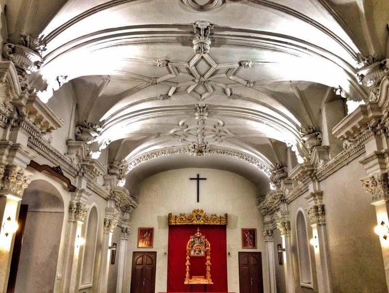 Salon orden tercera Hotel Convento Cadiz