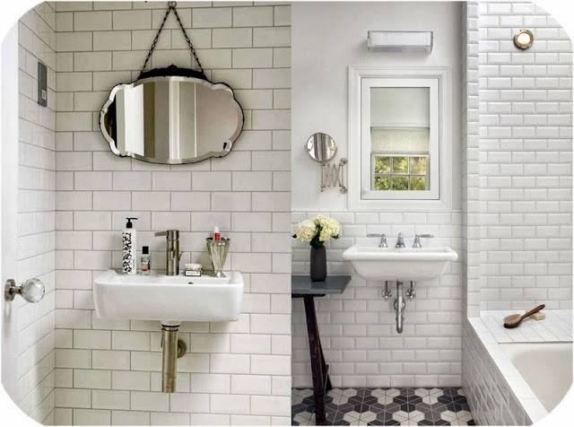 Azulejos Baño Blanco: unas cuantas imágenes de inspiración de baños con este azulejo