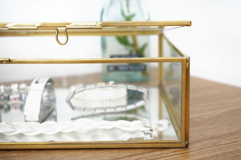 O trouver de jolies boites en verre pour sa d co for Boite a chapeau maison du monde