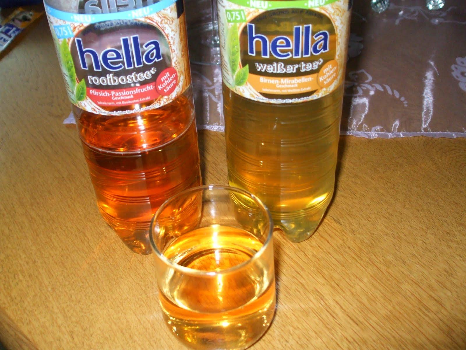 Biggi\'s erster Test-Blog: hella Mineralbrunnen