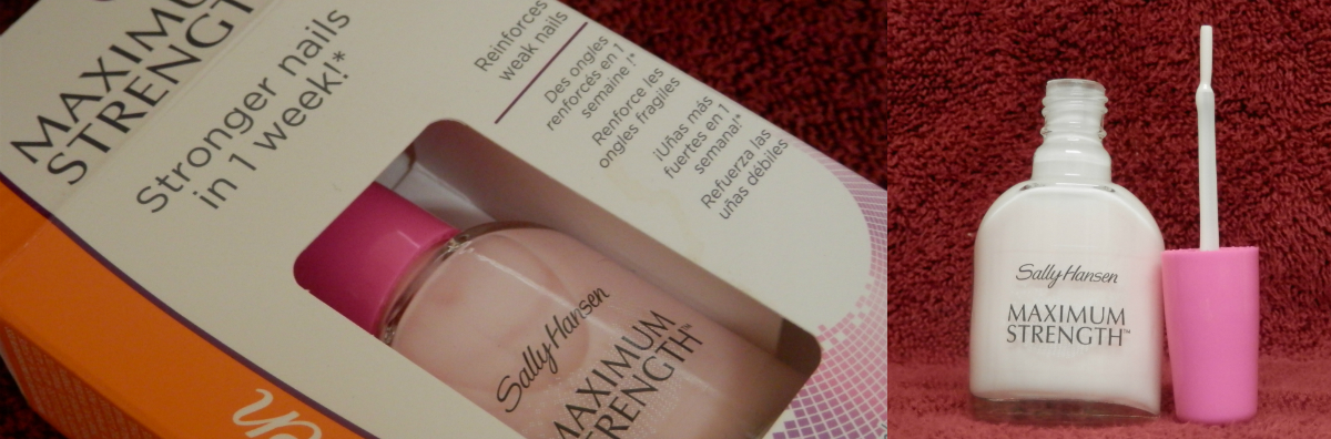 sally hansen maximum strength review