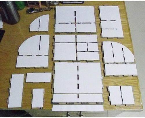 Ingeniosa estanteria de cart n dralive - Estanteria carton ...