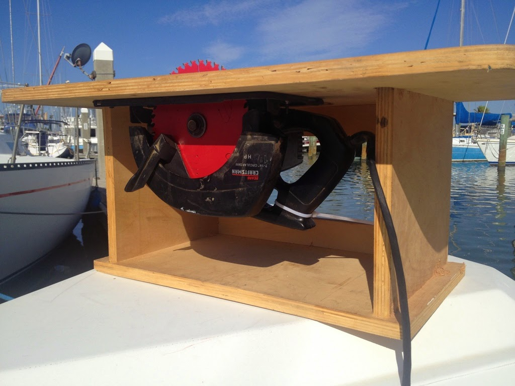 Small boat projects making life aboard easier dock box carpentry keyboard keysfo Images