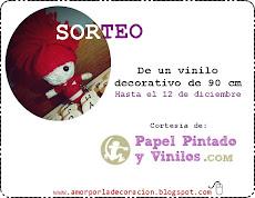 SORTEO VINILO