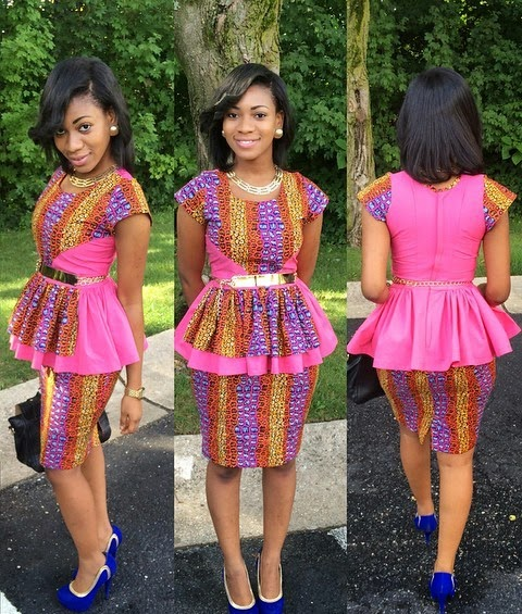 Nigerian Skirt And Blouse Styles 117