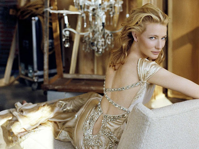 Cate Blanchett sexy in dress