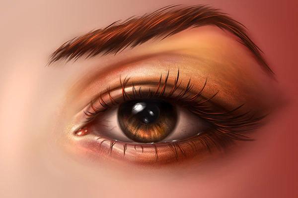 C mo pintar ojos realistas en photoshop cgadictos for Como pintar un ojo