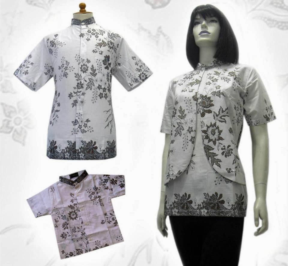 Model Baju Batik Pria Wanita Modern Terpopuler Dan Terbaru