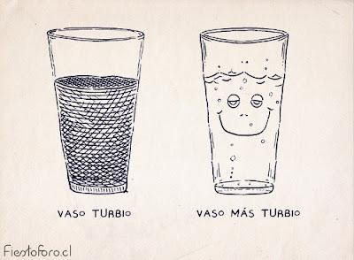 vaso turbio