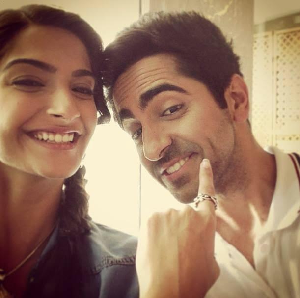 Ayushman and Sonam Kapoor's Next titled as 'Bewakoofian'
