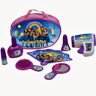 Brinquedo kit de beleza Chiquititas