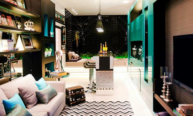 decoracao quarto azul turquesa e amarelo:Ateliê Venustas: Como usar cores fortes na decoração