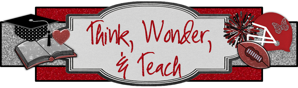 Think, Wonder, &amp; Teach