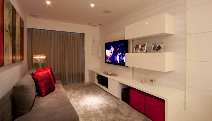 Como Montar Uma Sala De Tv Pequena ~  Agora é planejar e montar a sua sala de TV! Beijos e até a próxima