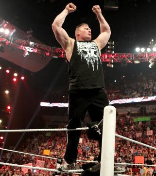 Brock Lesnar Is Back Here Comes The Pain
