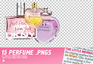 png de perfumes para collage brush photofiltre
