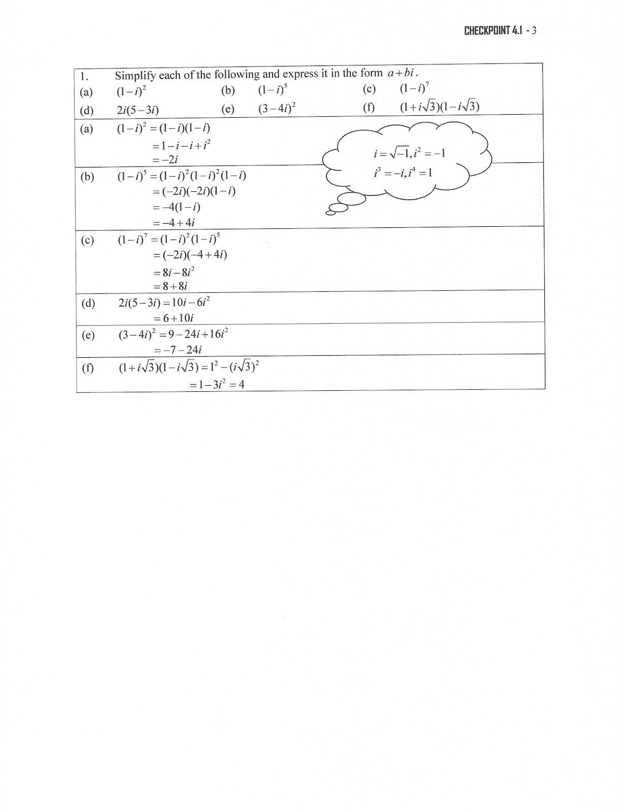 math coursework form 6