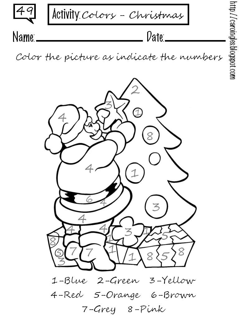 Los duendes y hadas de ludi recursos navide os for Actividades de navidad para colorear