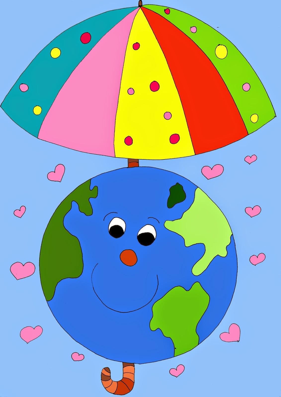 Kolorowanka Dzień Ziemi