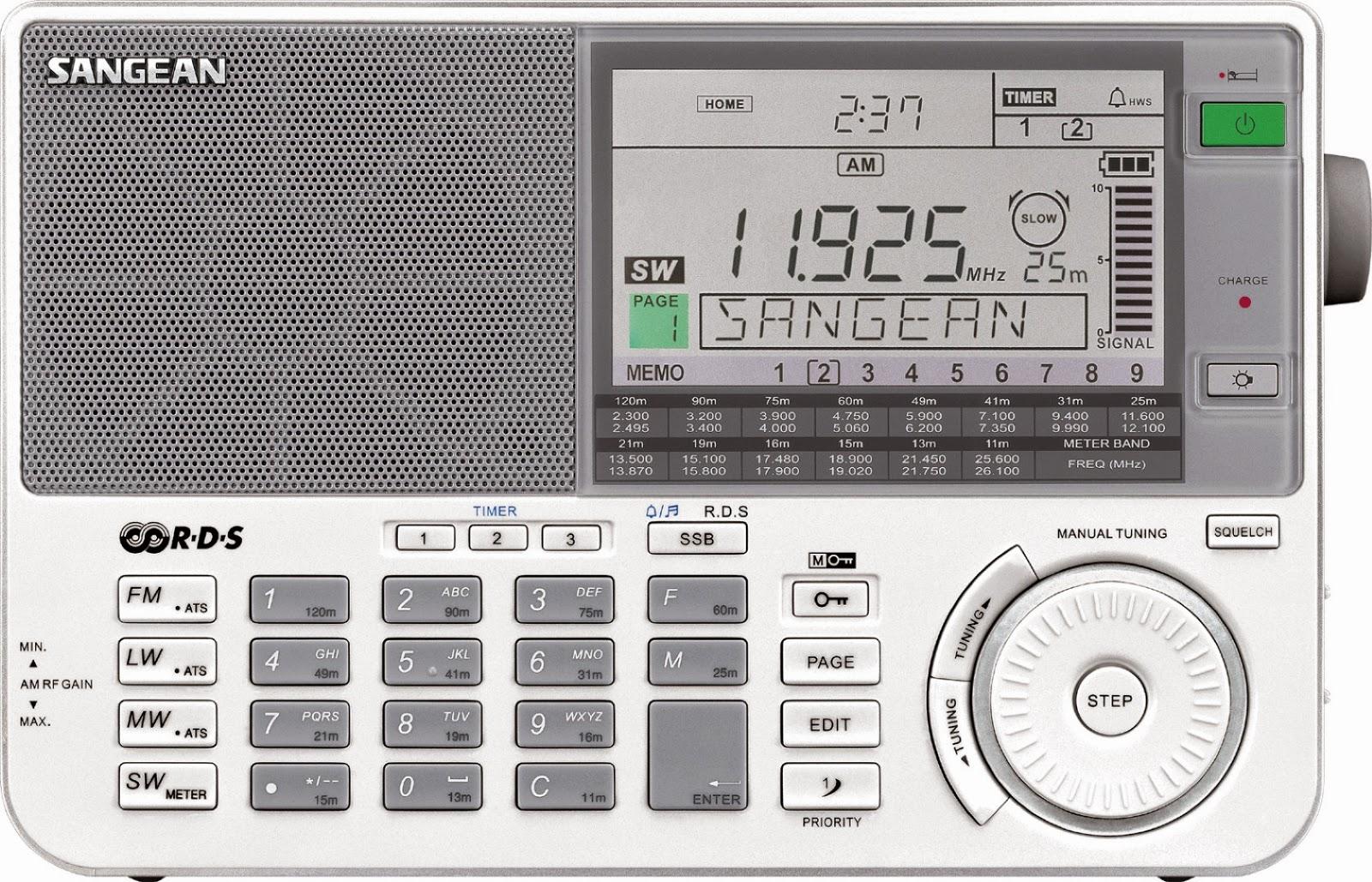 Радиоприемник Sangean ATS-909X (белый)