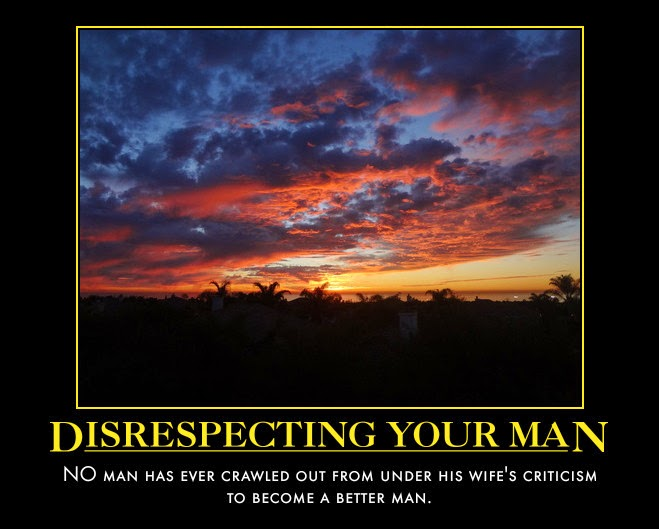 when a man disrespects you