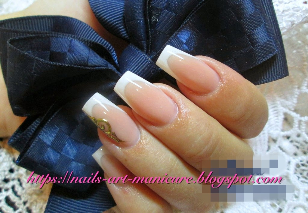 Nails Art Manicure: Top 12 French Nails Art Manicure for Long and ...