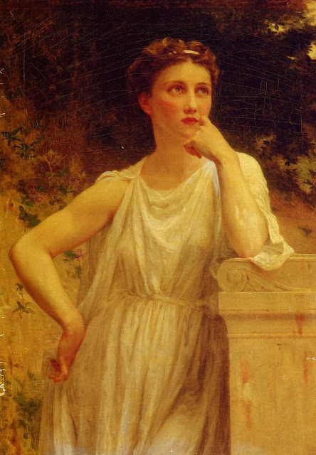 greek maiden,classical paintings, Guillaume Seignac