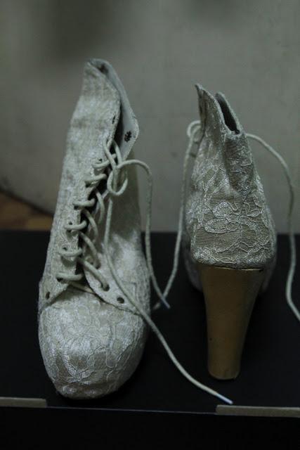 lita lace booties