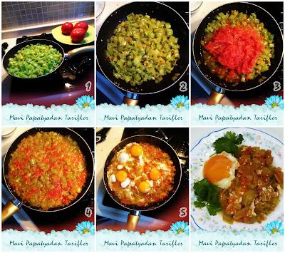 menemen tarifi, kolay yemek tarifleri, kahvaltılık tarifler