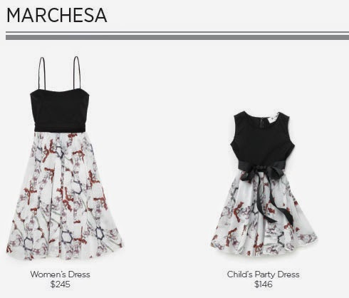 Marchesa for Born Free Collection