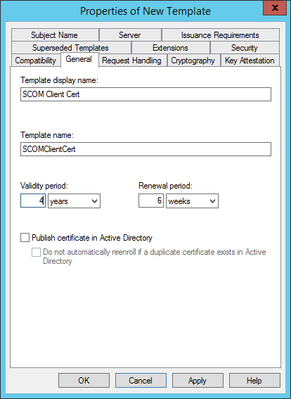 Scom certificate for gateways untrusted servers system center on the request handling tab make sure purpose is set to signature and encryption and check allow private keys to be exported yelopaper Image collections