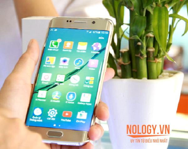Giao diện Samsung galaxy S6 Edge