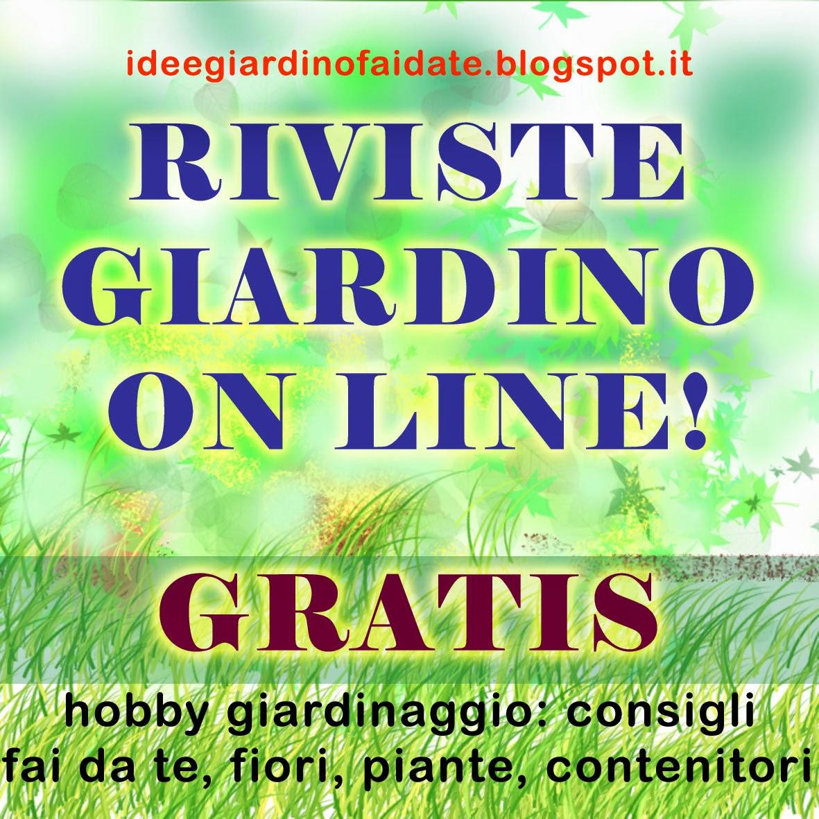 Riviste gratis giardino on line tutti i siti giornali for Orto pensile fai da te