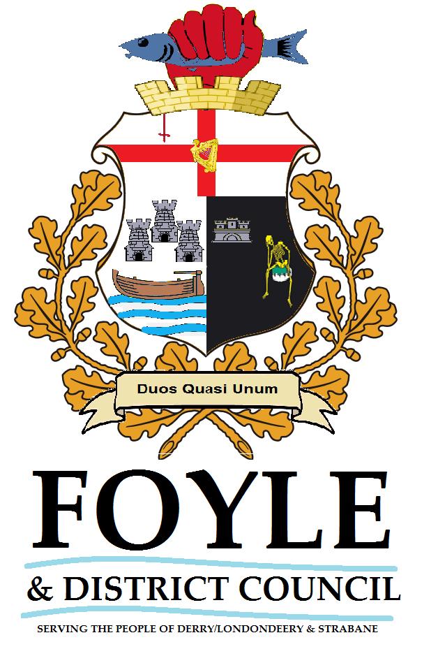sams flags new council logo