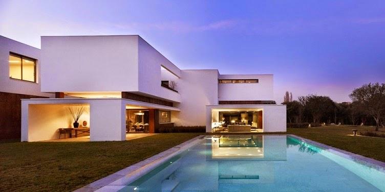 Casa en la moraleja dhal ghg architects madrid for Casa minimalista moderna