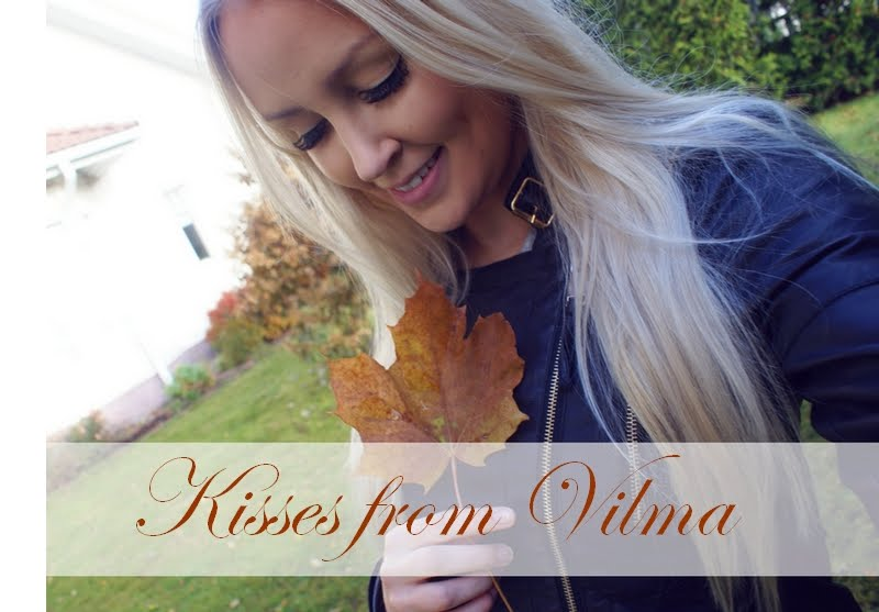Kisses from Vilma