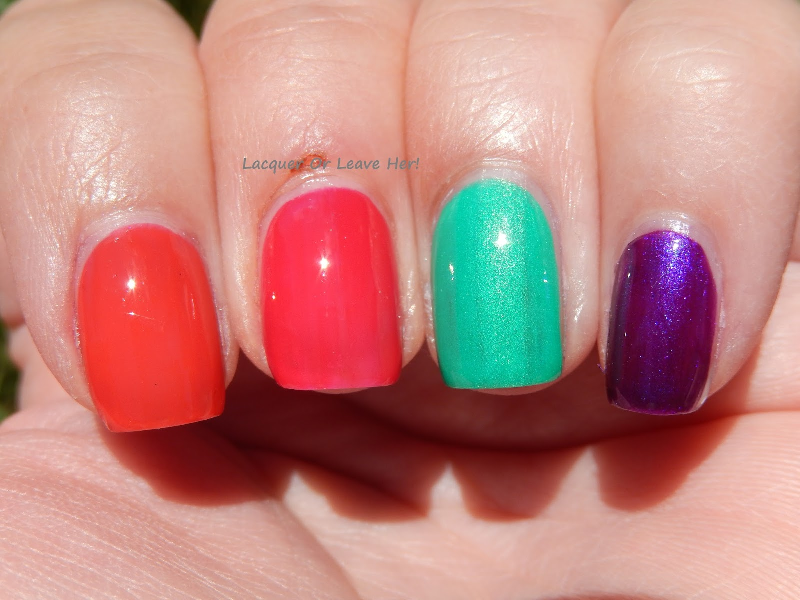 Lacquer or Leave Her!: Review: Jenna Hipp Collection