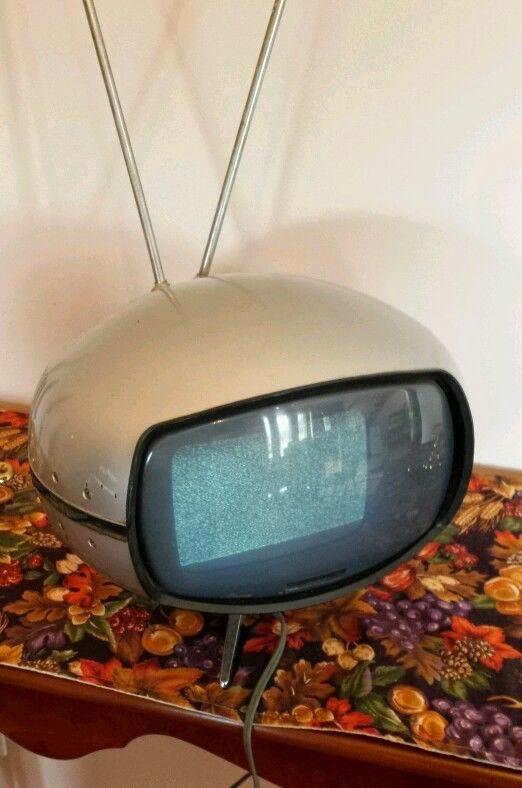 Panasonic The Orbitel TR-005C Vintage Space Age Transistor Television