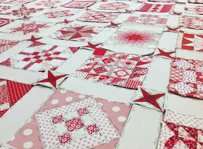 Nearly Insane Quilt - English Paper Piecing