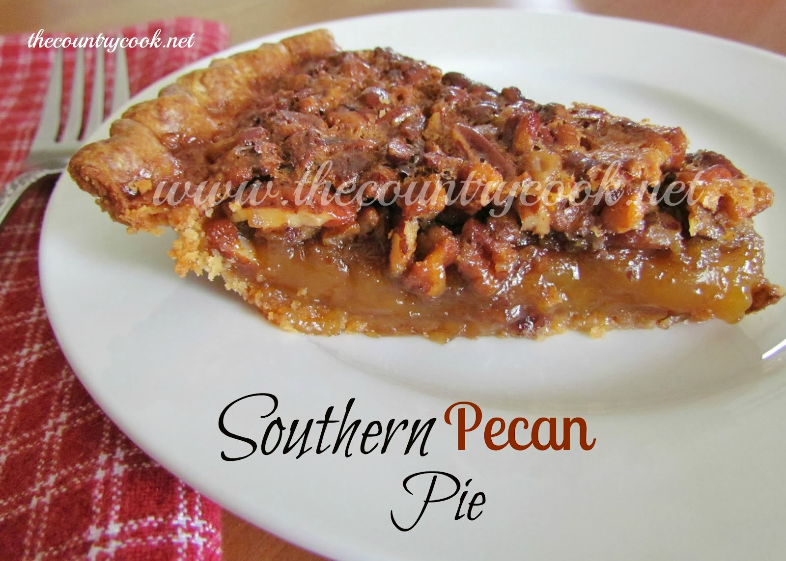 Southern Pecan Pie - The Country Cook