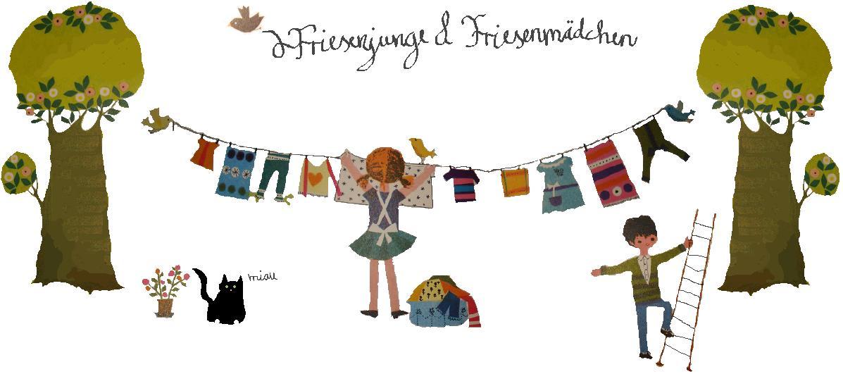 Friesenjunge & Friesenmädchen