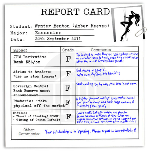 Screwtape Files Wynter Benton Report Card Semester