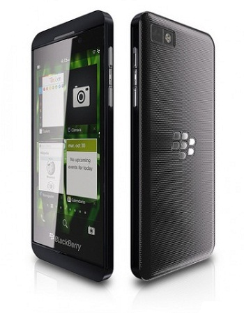 Release Date of BlackBerry Z10 in India