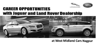 Jaguar Cars Nagpur Job Vacancy April 2013