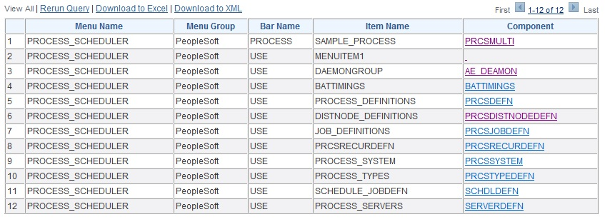 David S Oracle PeopleSoft Blog Drill Down Queries