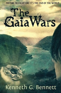 {Review+Giveaway} The Gaia Wars by Kenneth G. Bennett