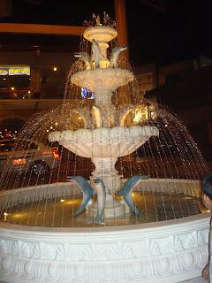 the fountain in Plazuela de Iloilo