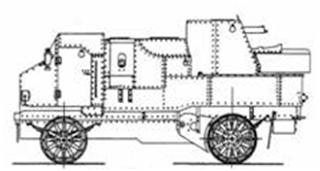 Бронетехника России в мире МВИ на начало 20-х годов - часть 2-я